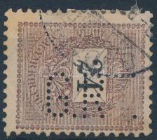 1899 24kr G.R.T. céglyukasztással (12.000)