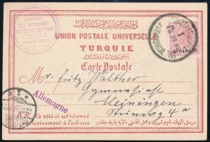Ausztria Levant 1898