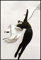 cca 1935 Mozgás- és mozdulatművészeti kompozíció, 1 db NEGATÍV, 4,8x3,5 cm