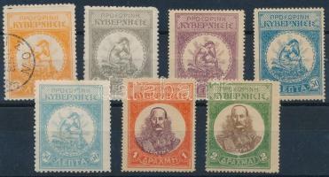 Felkelők postája 1905 Forgalmi Mi 6-11 + Mi 9 (Mi EUR 20,-)