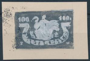 ~1945 Konecsni György bélyegterv vázlata
