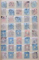 Ausztria több mint 600 db klasszikus és régi bélyeg berakóban 1850-től / more than 600 classic and old stamps from 1850 in stockbook