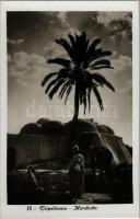 Tripoli, Tripolitania; Marabutto / marabout, Libyan folklore. Cav. Vittorio Aula