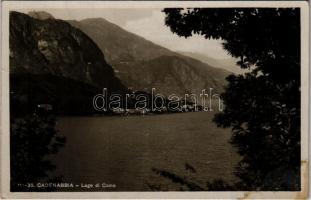 1938 Cadenabbia, Lago di Como / Lake Como. Fotoedizioni Brunner & C. (fl)