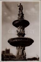Messina, Fontana del Montorsoli / fountain. Vera Fotografia N. 42. (crease)