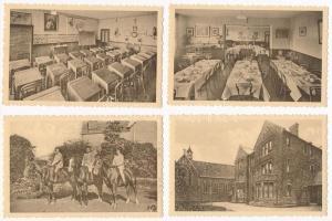 Sherborne, St. Anthonys Convent - 8 pre-1945 unused postcards