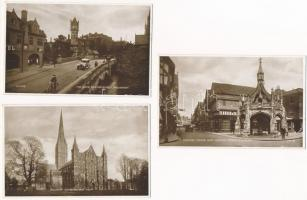 Salisbury - 5 pre-1945 unused postcards