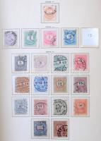 Tartalmas magyar gyűjtemény a Krajcárosoktól 1950-ig sok jó kiadással, sorokkal, blokkokkal, Schaubek előnyomott lapokon, Hawidban. A Turulig főleg bélyegzett, 1913-tól kizárólag használatlan. Magas katalógus érték!! Nagyon sok kép készült, érdemes megnézni!!