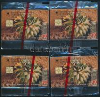 1995 AEB dukát 4 db 20 egységes telefonkártya, megjelent 4000 példányban, bontatlan csomagolásban