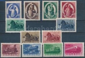 1946-1947 Bélyegjubileum + Vasútjubileum + S.A.S 1-1 sor (8.200)