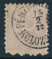 1871 Kőnyomat 25kr PÉNZUTAL(VÁNY) / KOLOZS(VÁR)