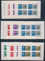 1961 5 Ezüst kisívsor (17.500)