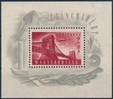 1948 Lánchíd I. blokk gumi nélkül (**30.000)