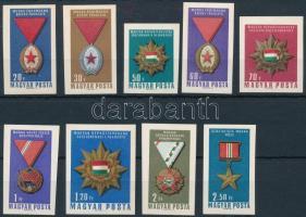 1966 Kitüntetések vágott sor (3.500)