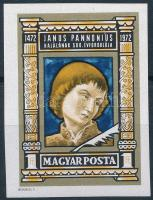 1972 Janus Pannonius vágott bélyeg