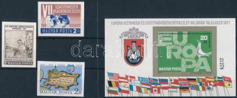 1969 Nemzetközi Művészettörténeti Kongresszus vágott bélyeg