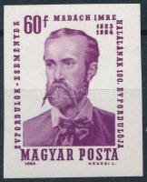 1964 Évfordulók - Események II. - Madách Imre vágott bélyeg
