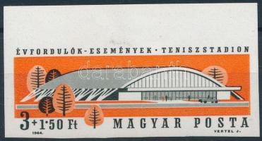1964 Évfordulók - Események II. - Teniszstadion, Vasas SC vágott bélyeg