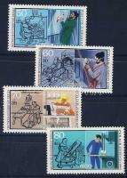 1986 Kétkezi munka Mi 754-757