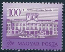 1987 Kastélyok 100Ft 11 1/2: 12 1/4 fogazással (50.000) (pici gumihiba)