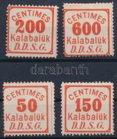 DDSG 4 db csomagellenőrzési bélyeg