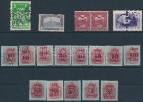 18 db régi bélyeg