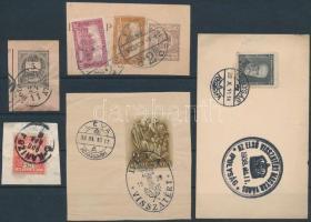 5 db bélyeges kivágás