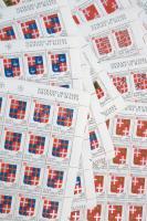 Szuverén máltai lovagrend 1991 Címer sor 25-ös ívdarabokban (Sassone EUR 150.-)