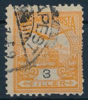 1900 Turul 3f 11 1/2-es fogazással (6.000) (foghibák)