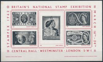 1962 Stampex bélyegkiállítás emlékív