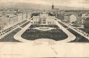 Zagreb Franz Joseph square Art Pavilion (fa)