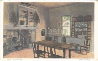 Mount Vernon (Virginia), Family kitchen, interior (EK)