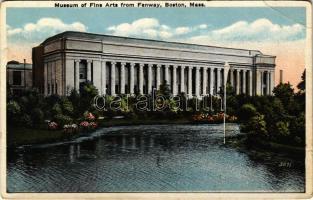 Boston (Massachusetts), Museum of Fine Arts from Fenway (EB)