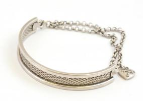 Ezüst(Ag) karperec, Tiffany jelzéssel, nettó: 7,89 g