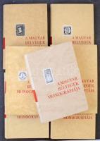 Magyar Bélyegek Monográfiája I-VII. kötet, teljes sorozat, dobozban