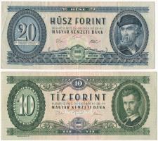 1975. 10Ft + 20Ft T:III szép papír Adamo F8, F16