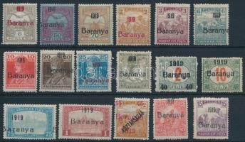 Baranya I. 1919 17 klf bélyeg Bodor vizsgálójellel (10.800)