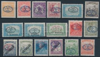 Debrecen I. 1919 17 klf bélyeg Bodor vizsgálójellel (25.650)