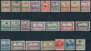 Baranya I. 1919 23 klf bélyeg Bodor vizsgálójellel (14.625)