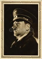 Adolf Hitler, NSDAP German Nazi Party propaganda, swastika. 6+19 Ga. + 50. Geburtstag des Führers 20. 4. 1939. Eger Deutsch der Sudetengau So. Stpl. (EB)