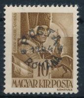 Máramarossziget 1944 Hadvezérek 10f, a felülnyomáson az M betű szára törött, garancia nélkül (20.000)