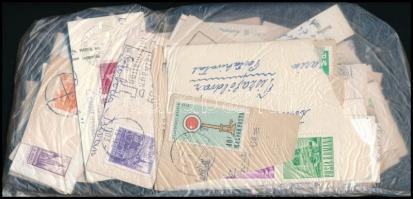 Magyar és külföldi áztatni való bélyegek, tasakban