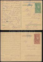 2 db második világháborús zsidó KMSZ (közérdekű munkaszolgálatos) levele / 2 WWII letters of Hungarian Jewish labor servicemen