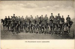 5-ik Huszárezred modori szakasza / Hungarian hussar regiment from Modra