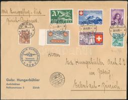 1939 Légiposta levél szép bélyegzésekkel