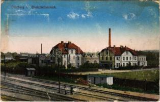 Bohumín, Oderberg; Chemikalienwerk / chemical plant, factory (fl)