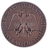 Ausztria DN Munkavállalók és Alkalmazottak Kamarája, Bécs / A társaság 25. évfordulója alkalmából Maria Steiner asszonynak peremén jelzett Ag emlékérem. Szign.: HK (59,46g/0.900/55mm) T:2 Austria ND Kammer für Arbeiter und Angestellte Wien / Anlässlich des 25 Jährigen Betriebsjubiläums Frau Maria Steiner Ag commemorative medallion with hallmark on the edge. Sign: HK (59,46g/0.900/55mm) C:XF
