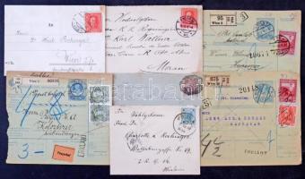 Ausztria kb 300 küldemény 1900-tól érdekességekkel, jobbakkal / Austria ~ 300 covers, postcards from 1900 with interesting and better ones