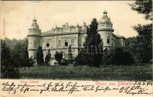 Dalovice, Dallwitz (Karlsbad, Karlovy Vary); Neues Schloss / new castle