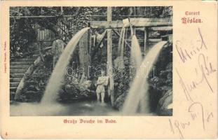 1900 Bad Vöslau, Curort, Grosse Douche im Bade / spa